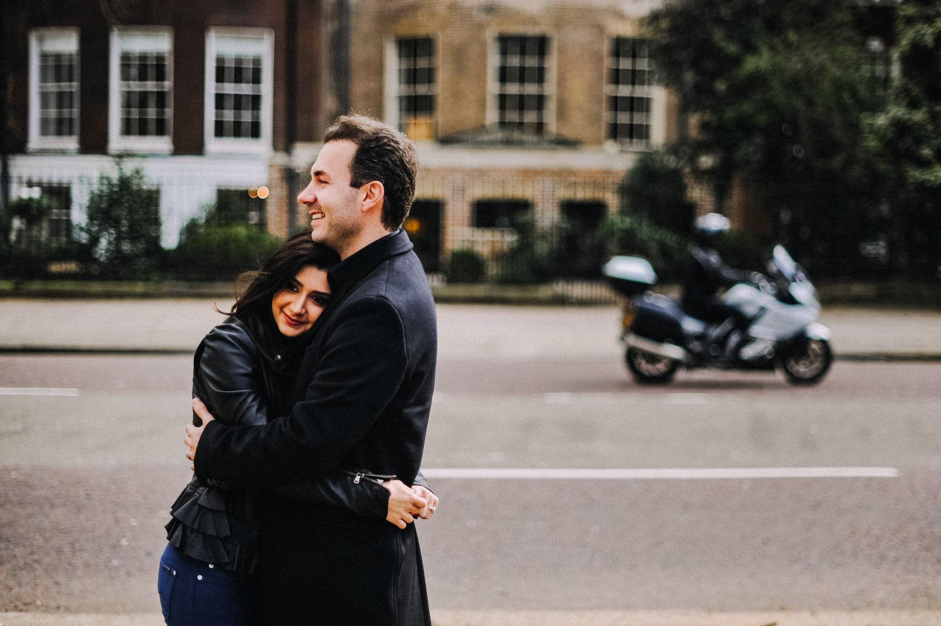 st. james engagement london