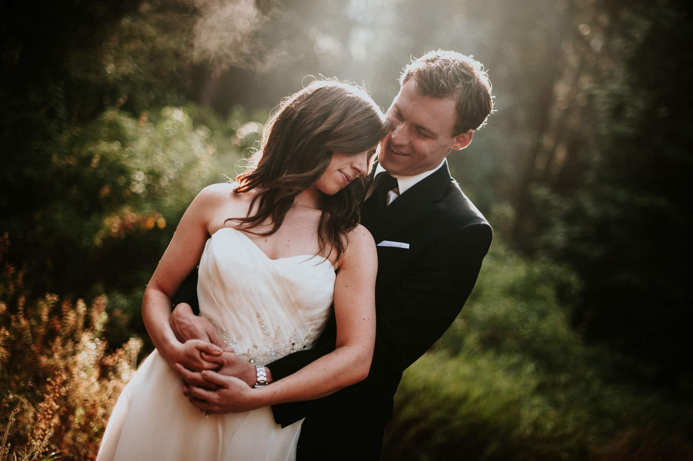 Yosemite Wedding, portrait