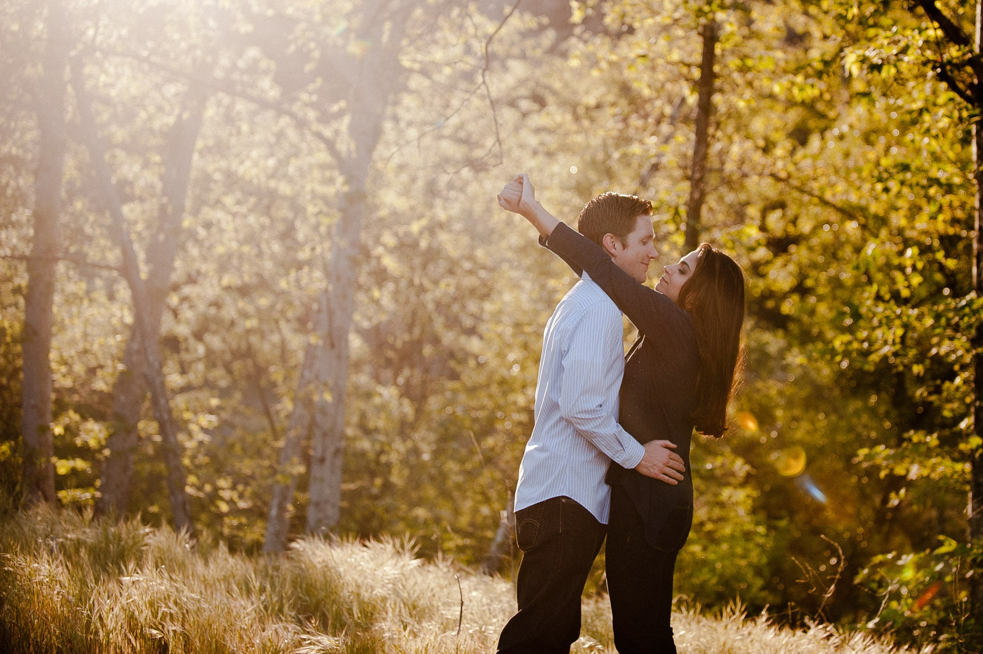 Engagement session at Malibu Creek Park, Best of Beloved, My Story