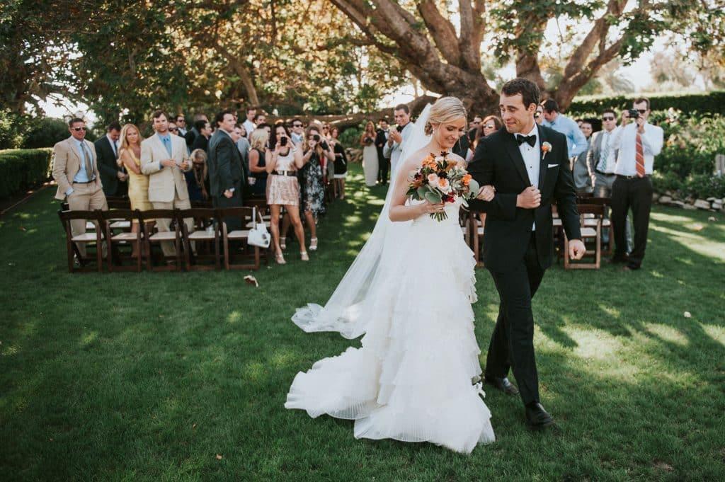 Adamson House wedding ceremony, Malibu, California, Wedding Portfolio