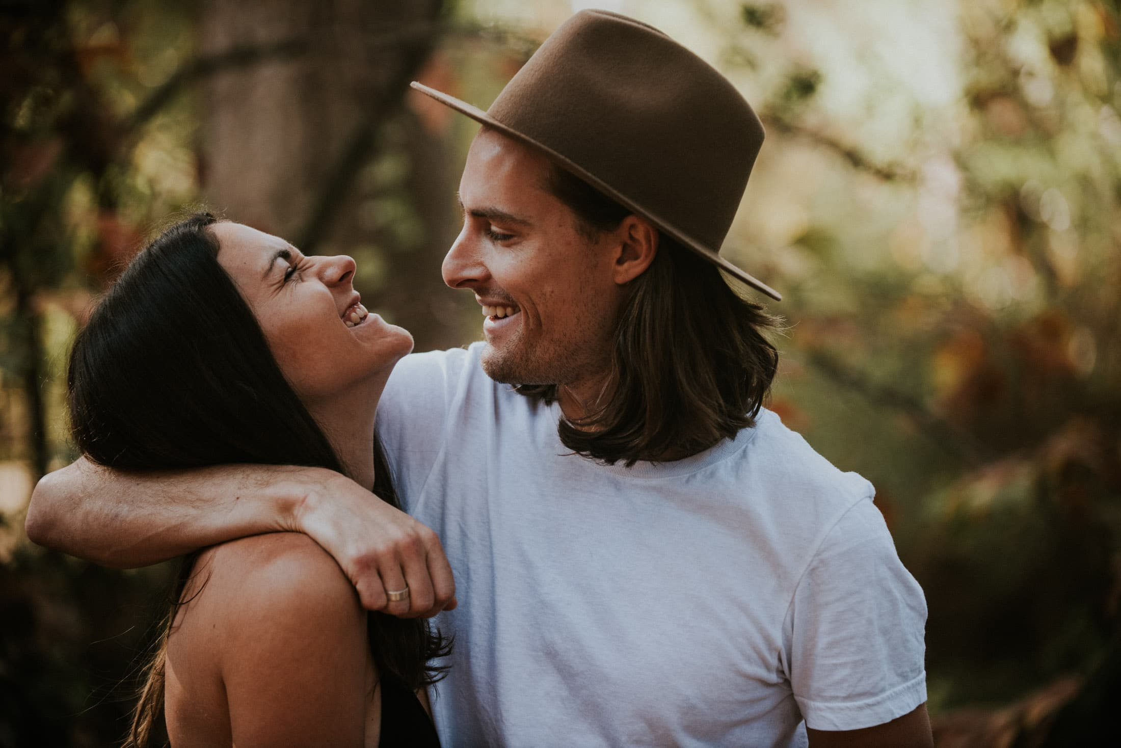 Temescal Canyon Engagement Photos