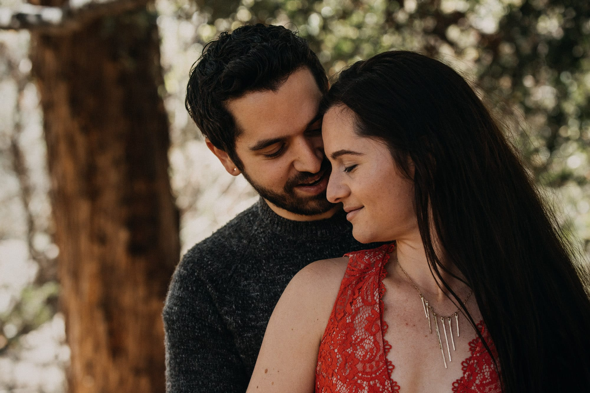 temescal canyon engagement session pacific palisades