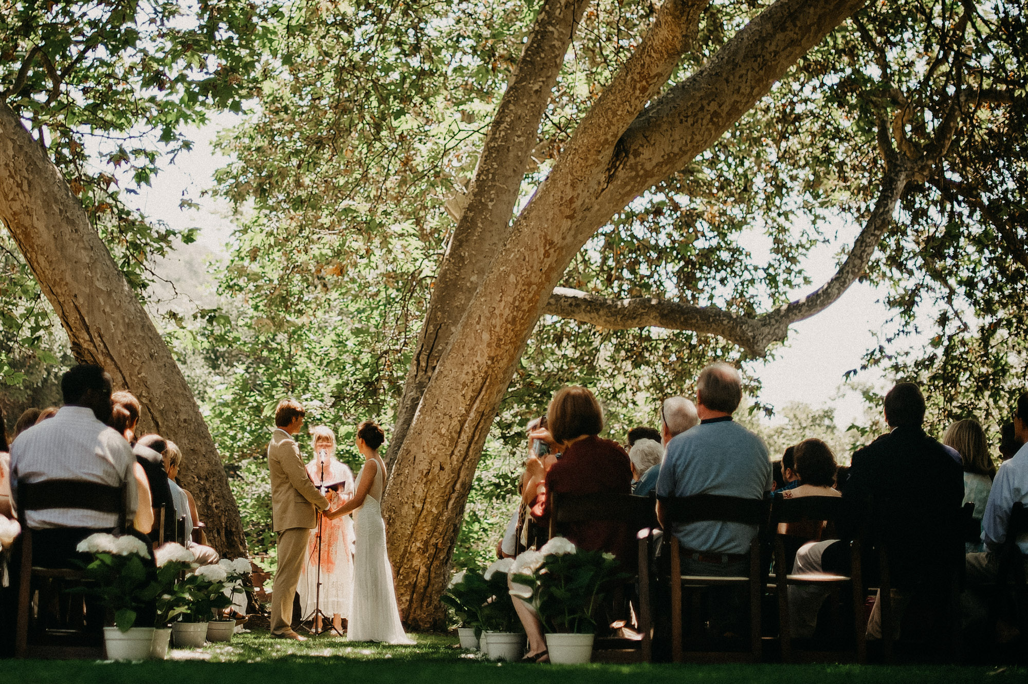 temescal canyon wedding, pacific palisades