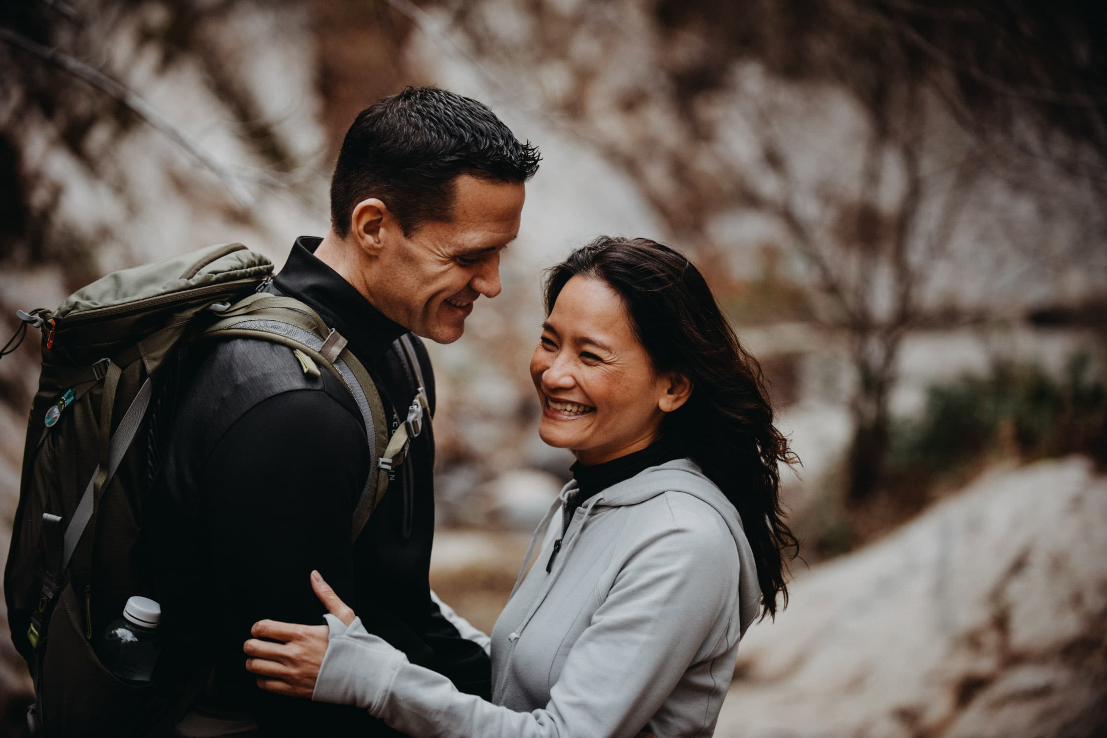 Angeles National Forest engagement photos