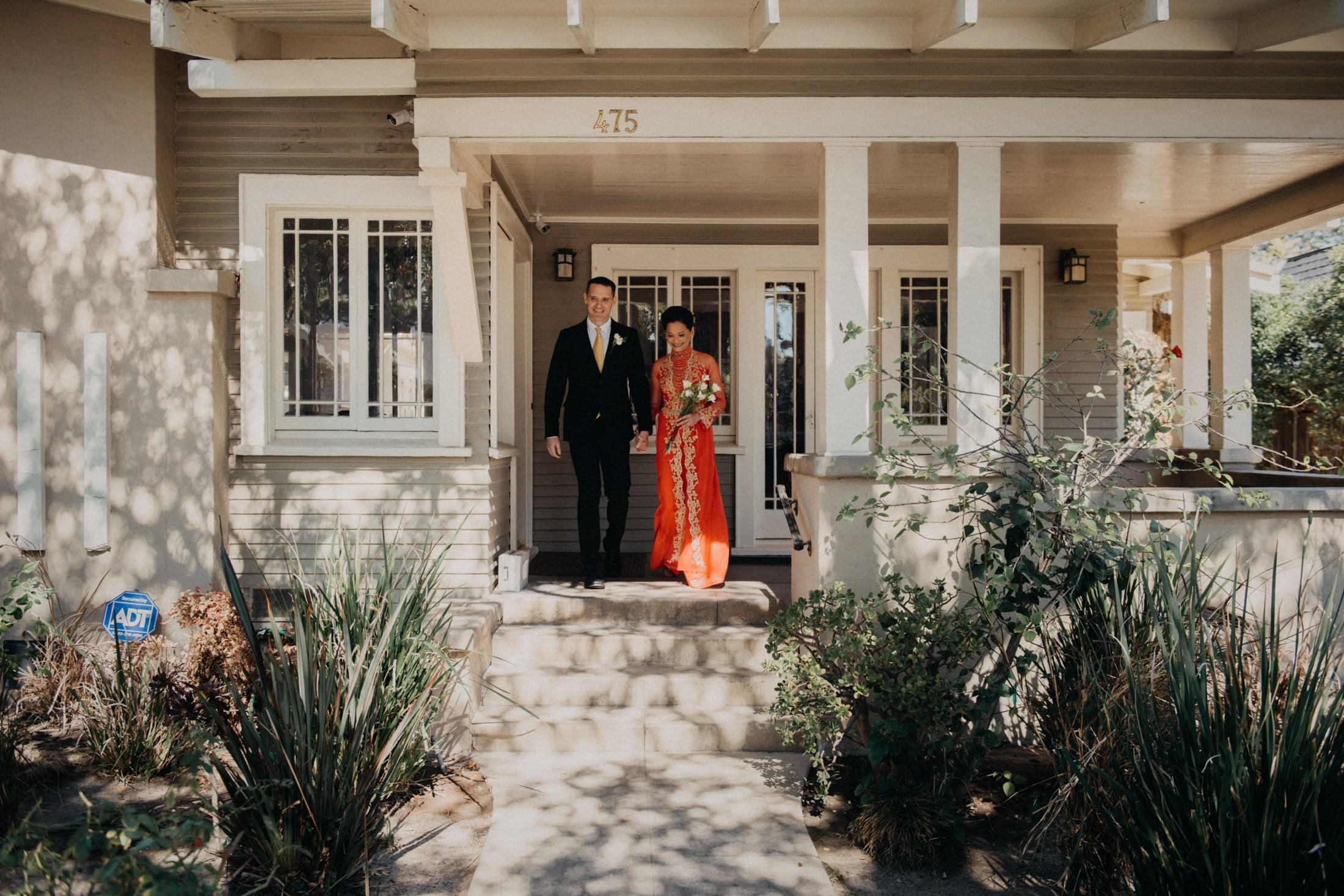 Pasadena Elopement Photography, The Raymond