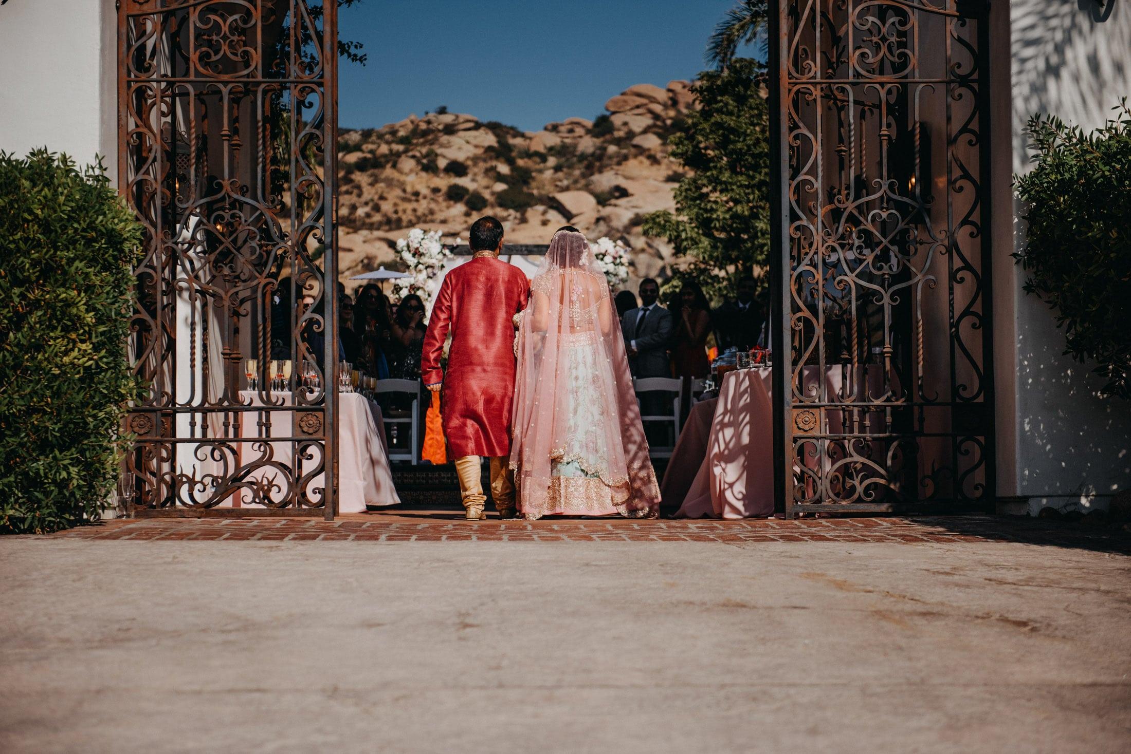 Hummingbird Ranch Indian Wedding