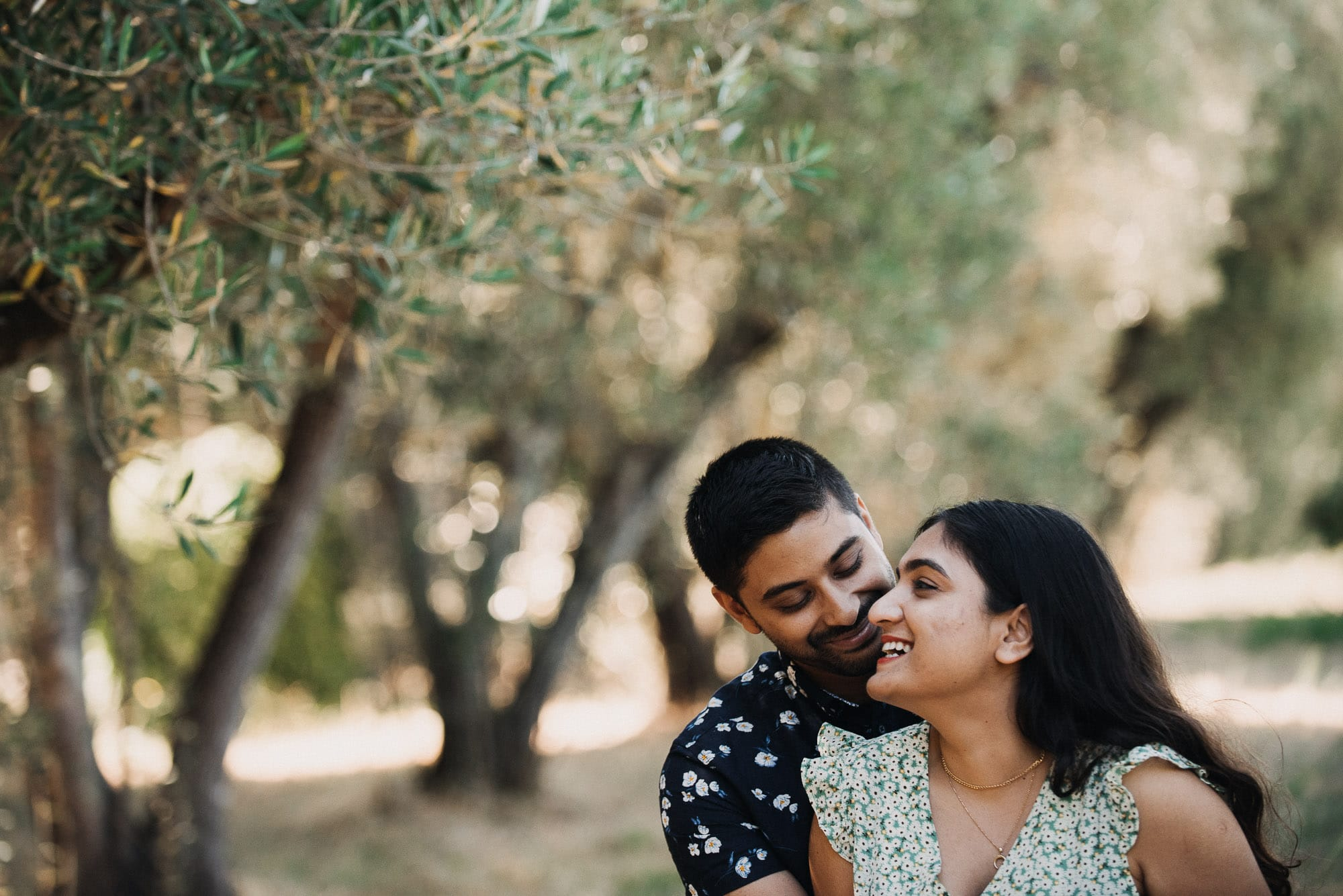 Fivoli Gardens Engagement Photos