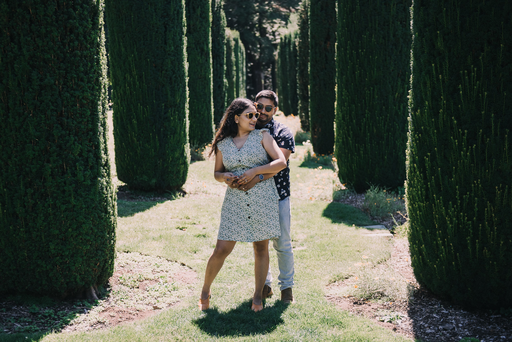 Fivoli Gardens Engagement Photos