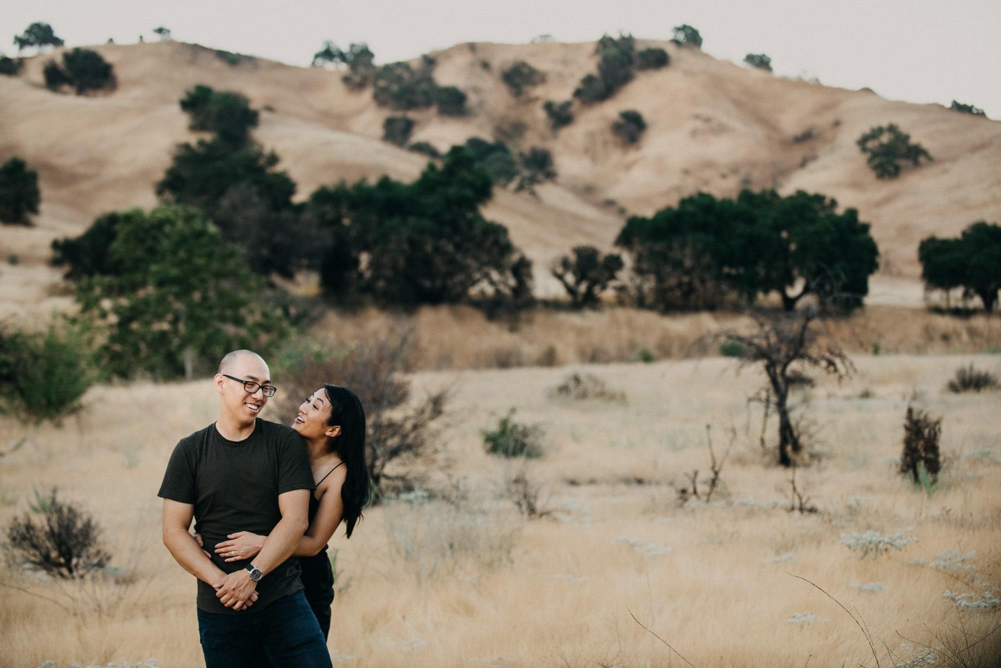 Malibu Creek Engagement Photos