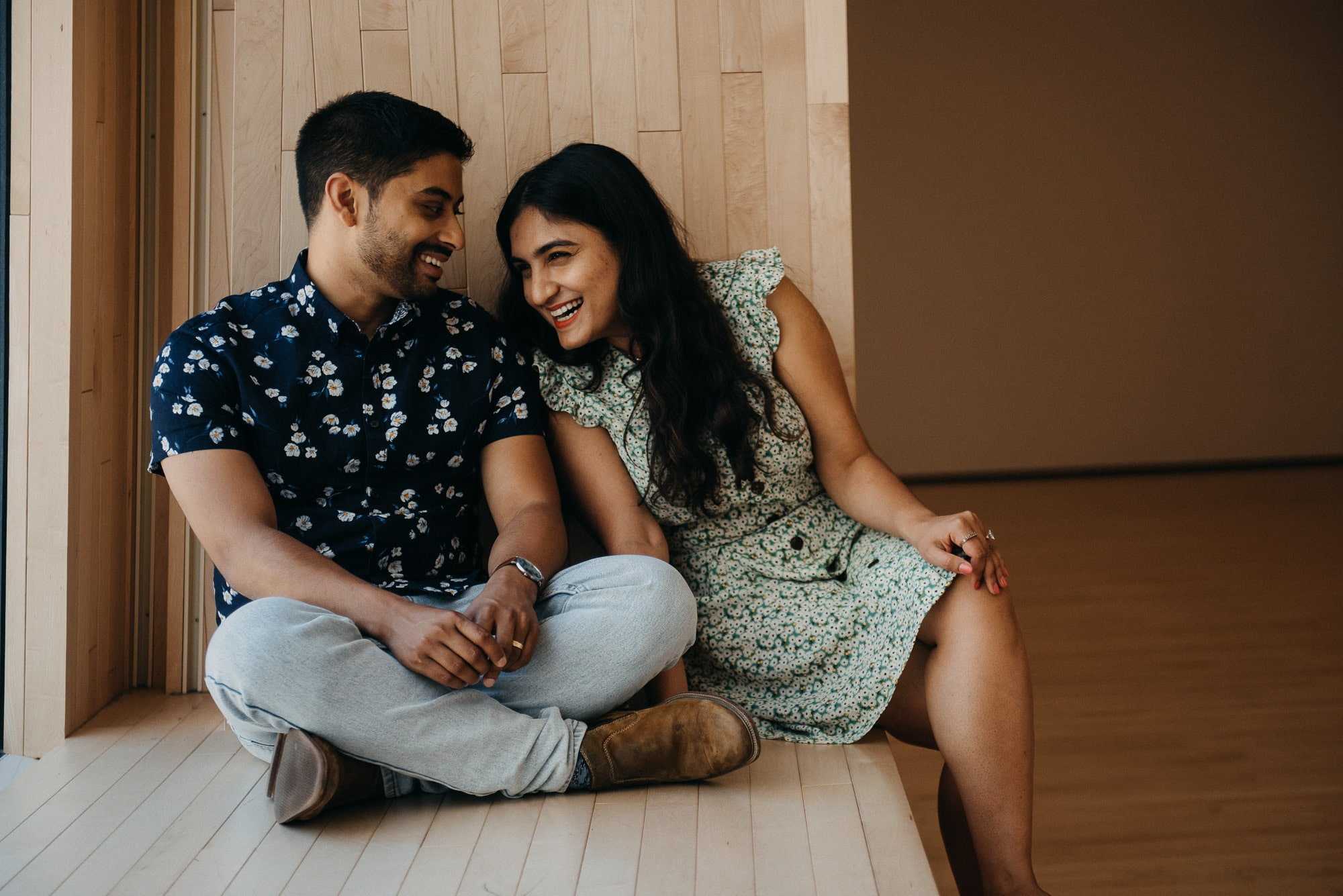 SFMOMA Engagement Photos