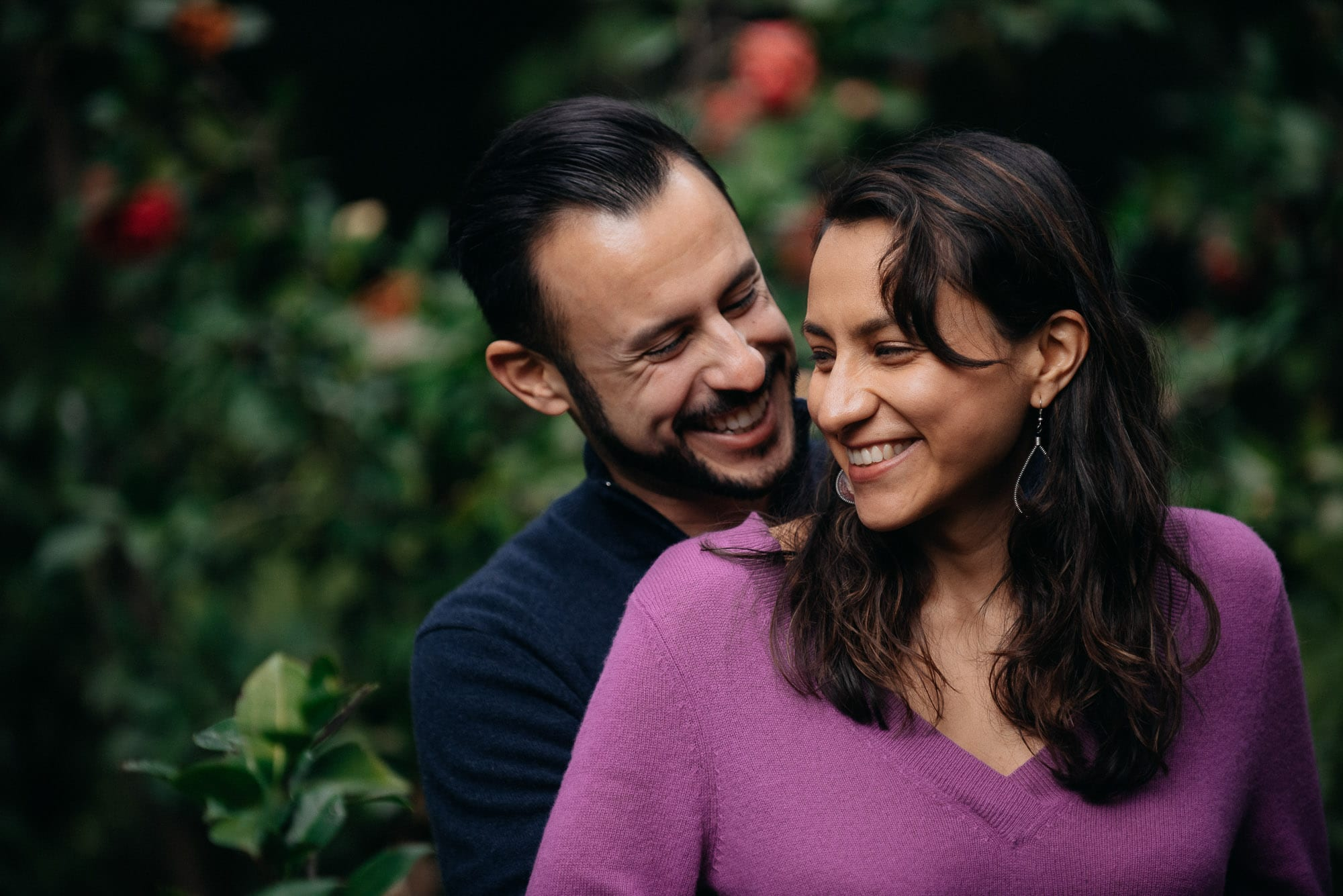 Descanso Gardens Engagement Photos